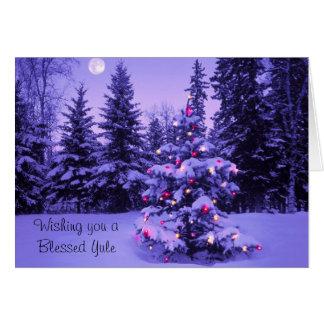 Carte Vous souhaitant un Noël béni