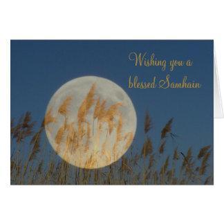 Carte Vous souhaitant un Samhain béni
