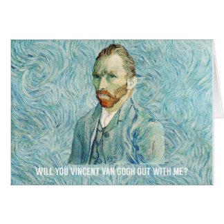Carte vous Vincent van Gogh avec moi ?