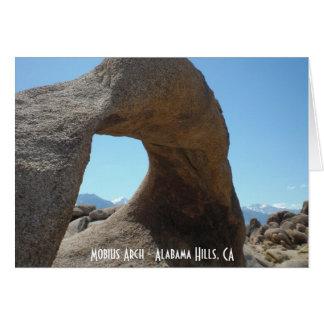 Carte Voûte de Mobius - collines de l'Alabama