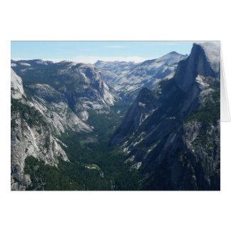 Carte Vue de point de glacier en parc national de