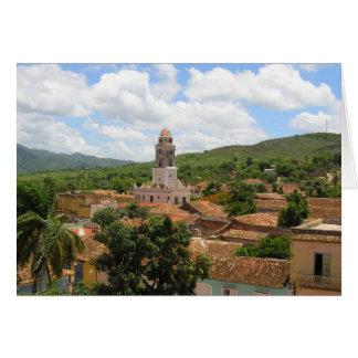 Carte Vue de ville du Cuba