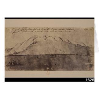 Carte Vue des excavations de troy vues de l'ouest