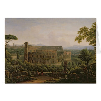 Carte Vue du Colosseum de la colline de Palatine