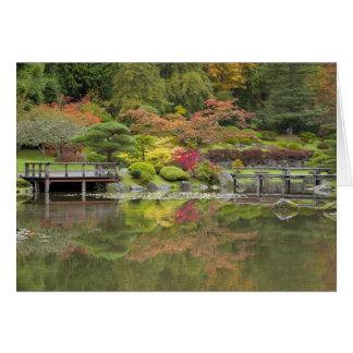 Carte WA, arborétum de parc de Seattle, Washington, 3
