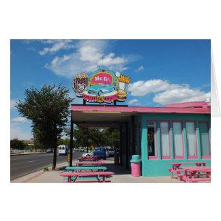 Carte Wagon-restaurant sur l'itinéraire 66 Seligman
