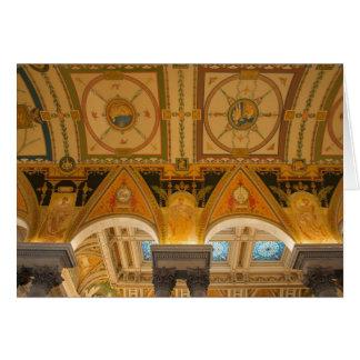 Carte WASHINGTON, C.C ETATS-UNIS. Plafond dans grand