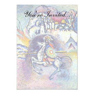 Carte Wassily Kandinsky - St George et les cavaliers