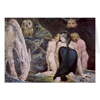 Carte William Blake - Hecate - nuit de la joie