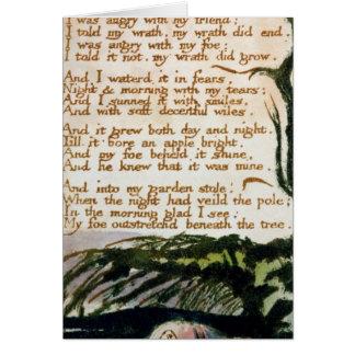 Carte William Blake | un arbre de poison