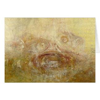 Carte William Turner - lever de soleil avec des monstres