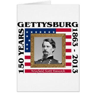 Carte Winfield Scott Hancock - 150th Gettysburg