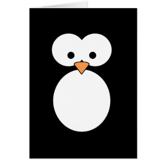 Carte Yeux de pingouin