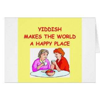 Carte Yiddish
