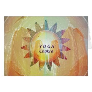 Carte Yoga Chakra