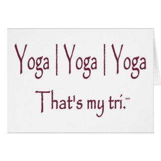 Carte Yoga du yoga | du yoga |