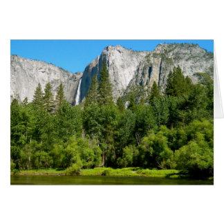 Carte Yosemite Falls