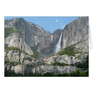 Carte Yosemite Falls III de parc national de Yosemite