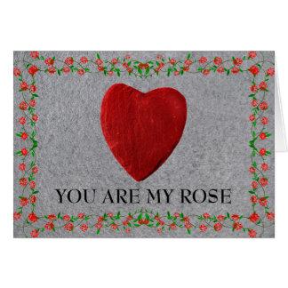 Carte You d'acres my rose