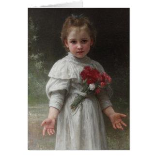 Carte Yvonne - William-Adolphe Bouguereau