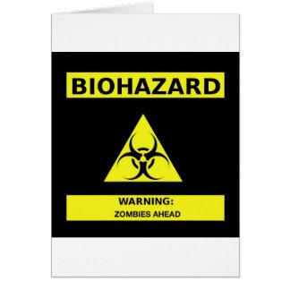 Carte Zombi de Biohazard
