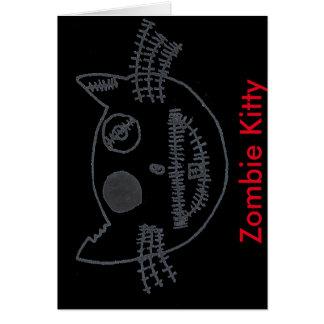 Carte Zombi Kitty