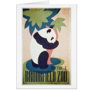Carte Zoo-Panda de Brookfield