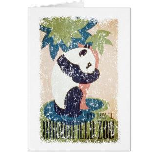 Carte Zoo-Panda de Brookfield affligé