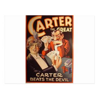 Carter le grand carte postale