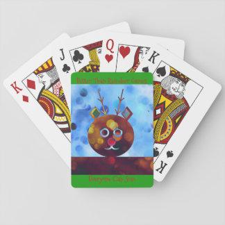 Cartes À Jouer Améliorez que des jeux de renne