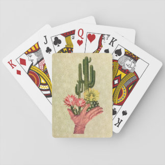 Cartes À Jouer Cactus Handup - cartes de jeu