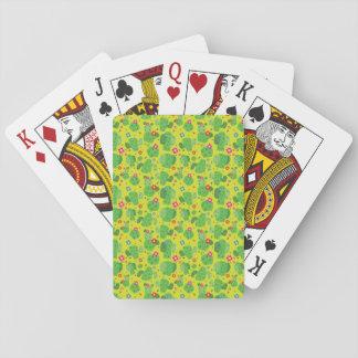 Cartes À Jouer Cactus j'extérieur (vert) - cartes de jeu