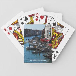 Cartes À Jouer Canal grand, Venise, Italie