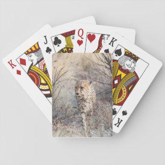 Cartes À Jouer Cartes de jeu avec l'image avant de la chasse de