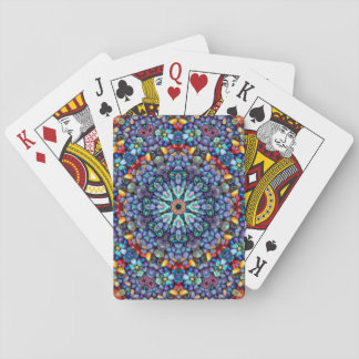 Cartes À Jouer Cartes de jeu colorées de merveille en pierre