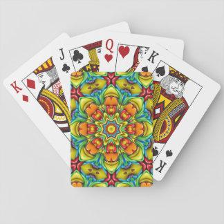 Cartes À Jouer Cartes de jeu colorées de rayon de soleil