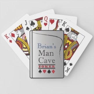 Cartes À Jouer Cartes de jeu de caverne d'homme