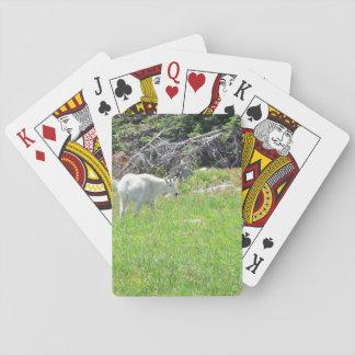 Cartes À Jouer Cartes de jeu de chèvre de montagne