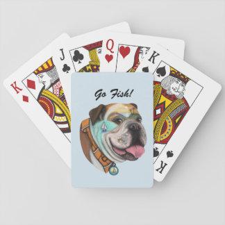 Cartes À Jouer Cartes de jeu de coucher du soleil de navigation
