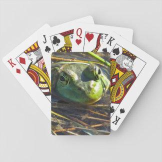 Cartes À Jouer Cartes de jeu de grenouille de Taureau