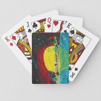 Cartes À Jouer cartes de jeu de lever de soleil
