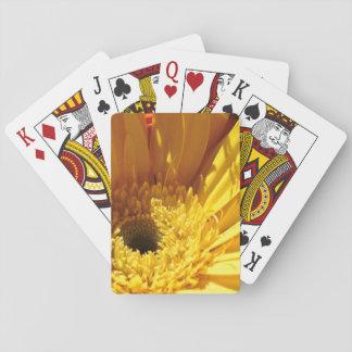 Cartes À Jouer Cartes de jeu de marguerite de jour ensoleillé
