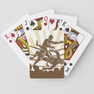 Cartes À Jouer Cartes de jeu de match de boxe