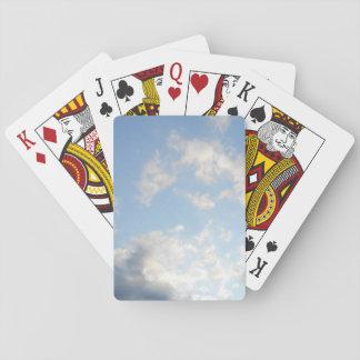 Cartes À Jouer cartes de jeu de nuages de ciel bleu