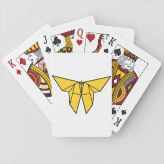 Cartes À Jouer Cartes de jeu de papillon d'origami