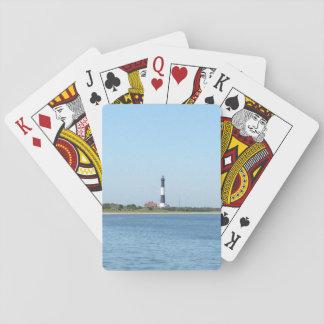 Cartes À Jouer Cartes de jeu de phare d'île du feu