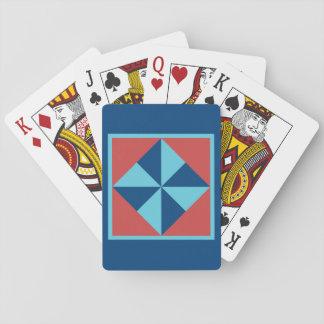 Cartes À Jouer Cartes de jeu d'édredon - bloc de soleil