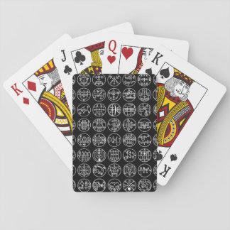 Cartes À Jouer Cartes de jeu démoniaques de Sigil
