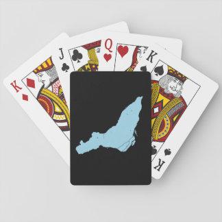 Cartes À Jouer Cartes de jeu d'île de Montréal