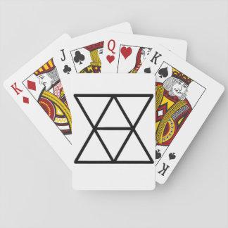 Cartes À Jouer Cartes de jeu domestiques de logo de diplomates